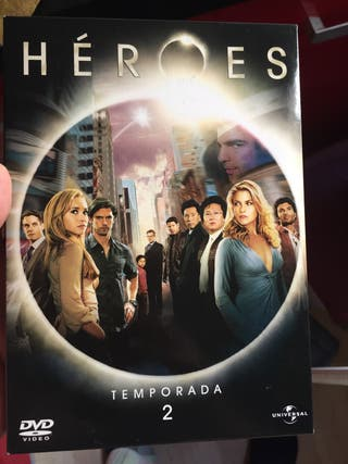 Serie héroes dvd T2