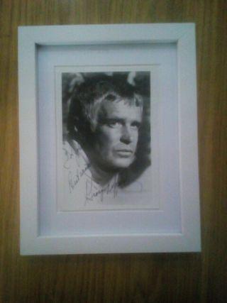 Foto y Autografo George peppard