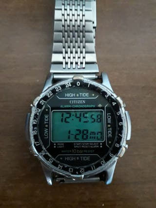 reloj citizen raro y vintage