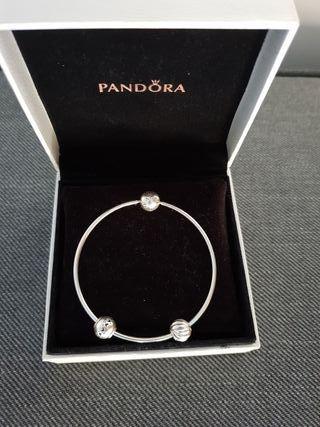 be4490638e29 Pulsera Pandora essence de segunda mano en WALLAPOP
