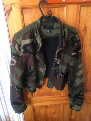 Forever 21 camouflage jacket