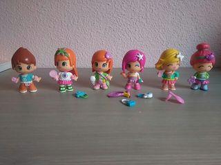 Muñecas PinyPon + muñeco.