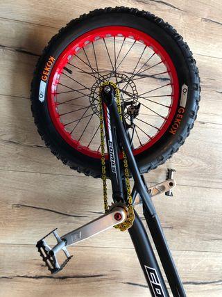 Bicicleta de trial Comas