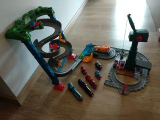 trenes Thomas con 3pistas