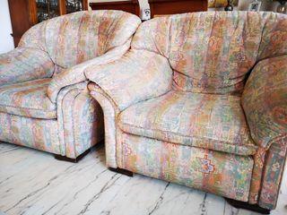 Pareja de sillones de salón