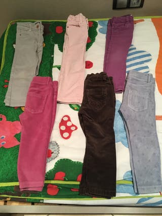 Lote pantalones talla 2-3 años