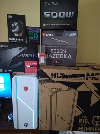 pc gamer i5 8600k con garantia montado 29/01/2019