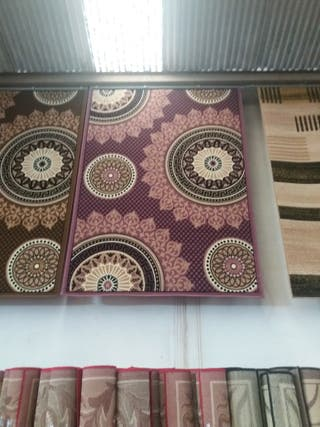alfombra cenefa griega moderna