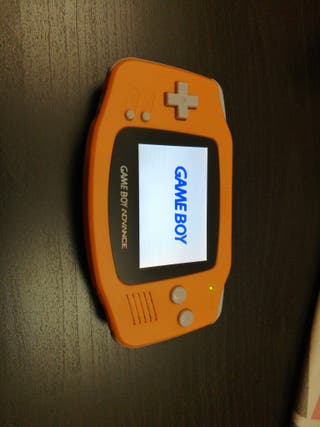 Gameboy Advance retroiluminada