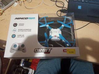 dron con camara altura automatica y luces led