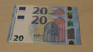 Pareja Billetes correlativos 20 Euros Serie Europa