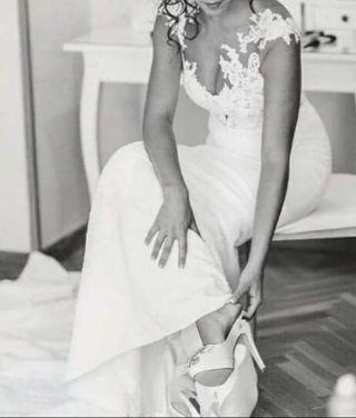 vestido de novia pronovias de segunda mano en colmenar viejo en wallapop