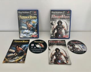 PACK PRINCE OF PERSIA ps2