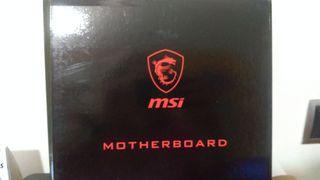 Placa Base Gming MSI B250M Mortal Artic