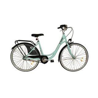 Bici rod26 canasto espejo timbre luces sillín