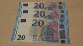 Trío correlativos billetes 20 Euros
