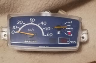 cuentakilómetros scooter moto