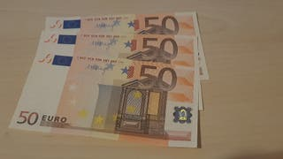 Trío Billetes 50 Euros Primera Serie