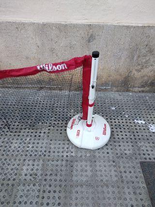 Red portátil de tenis