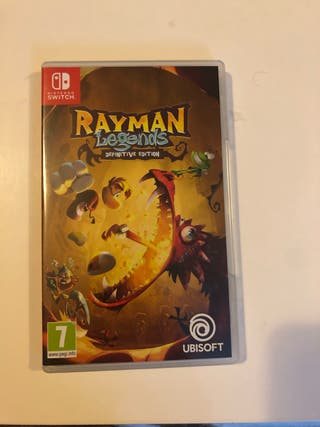 Juego Nintendo switch Rayman Legend