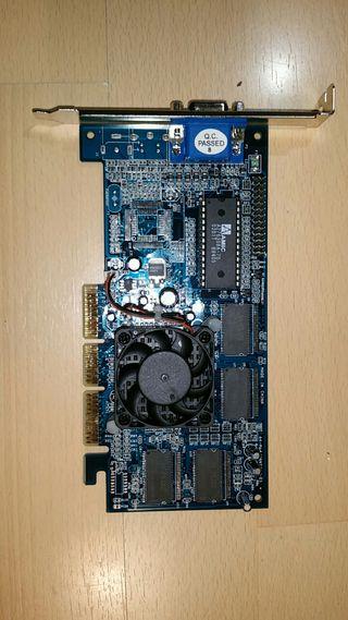 Tarjeta grafica AGP 32 Mb.