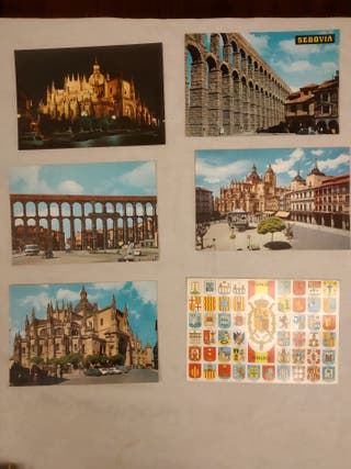 Postales antiguas de Segovia