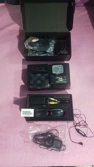 gafas espia con camara webcan y dvr pv-500evo2u