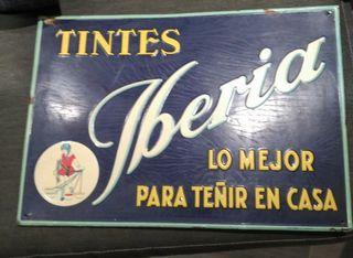 Chapa antigua Tintes Iberia