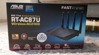 ASUS RT-AC87U - Router inalámbrico AC2400