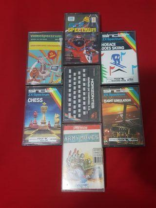 Lote 7 juegos spectrum