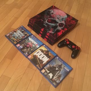 Play ps4 pro 1t