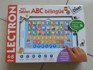 Tablet ABC bilingüe nueva