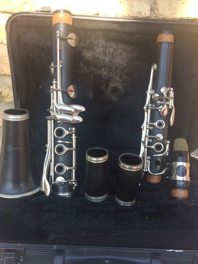 clarinete bernard con boquilla vandoren M30