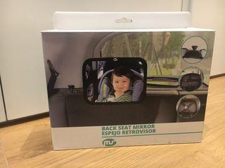 Espejo coche vigila bebés
