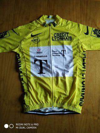Maillot amarillo T MOBILE Tour de Francia Ullrich