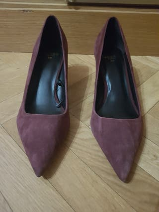 Zapatos de piel nuevos Mango