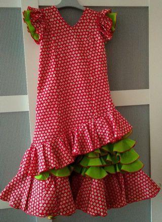 Traje flamenca MOLINA Niña
