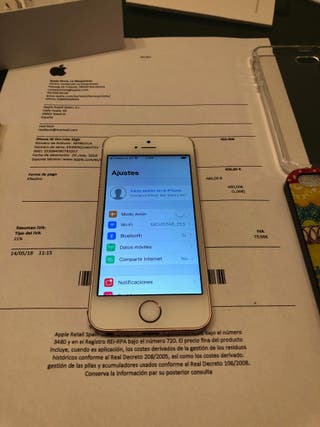 Iphone SE 32gb Rose Gold LIBRE FACTURA y GARANTIA