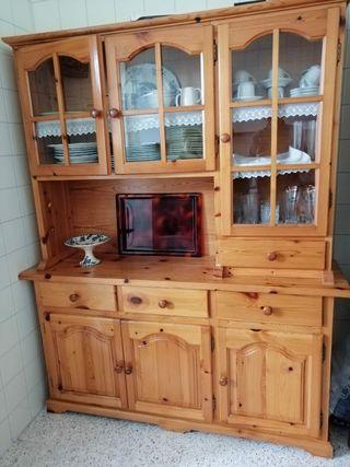 mueble vitrina cocina comedor