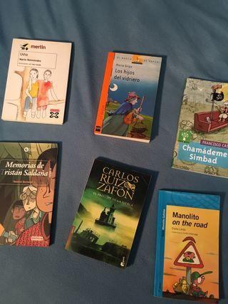 Pack libros juveniles