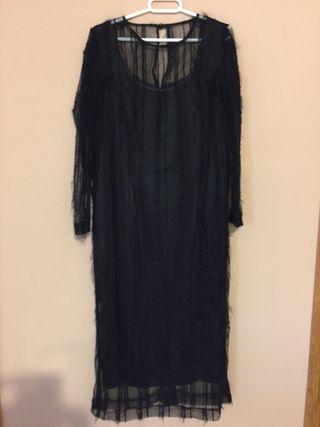 Vestido negro talla 46