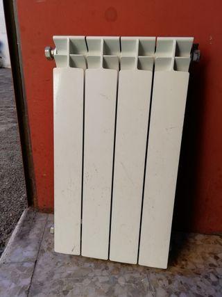 radiador de aluminio 4 elementos