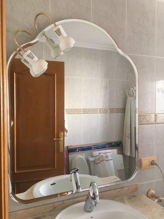 Espejo viselado 110x90