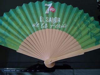 abanico de feria flamenco Seven Up