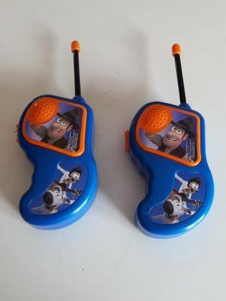walkie talkies de Tadeo Jones