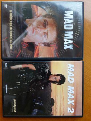 mad max 1 y 2 dvd