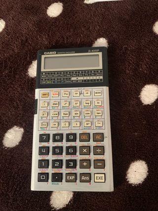 Casio fx-4000p científica calculadora vintage