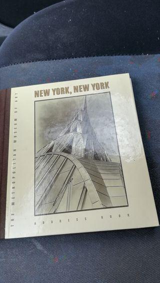 Antigua agenda telefónica de New York