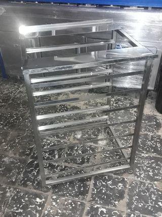 Mesa soporte para horno