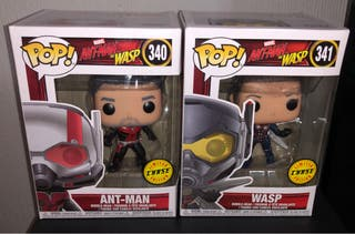 Funko pop Ant Man & Wasp chase
